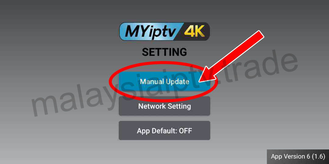 How to update Myiptv 4K to Version 1 9 – malaysiaiptv trade