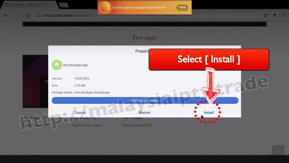 1 (B) WIFI Method 2 ( Change on DNS APP ) – malaysiaiptv trade